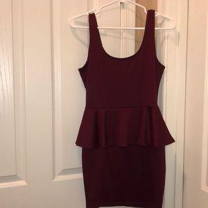 Dresses & Skirts - Body-Con Peplum Dress❤️